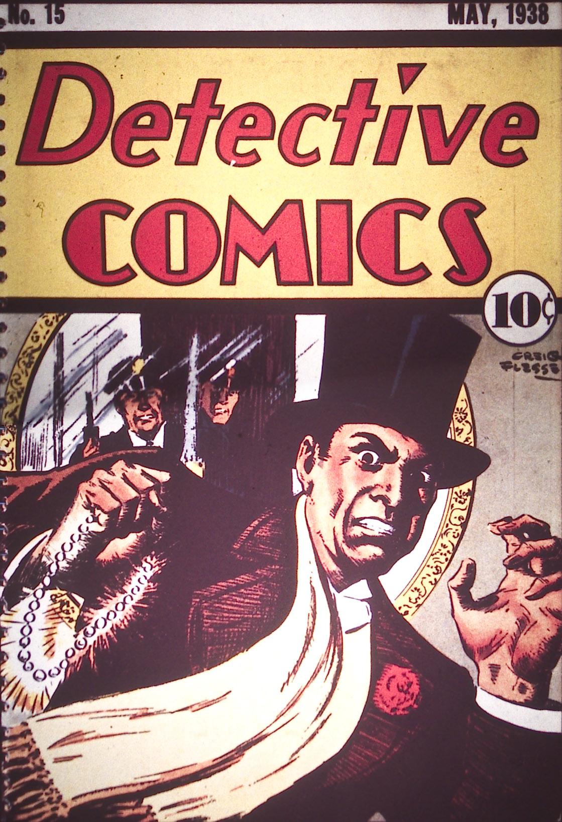 Detective Comics (1937) 15 Page 1