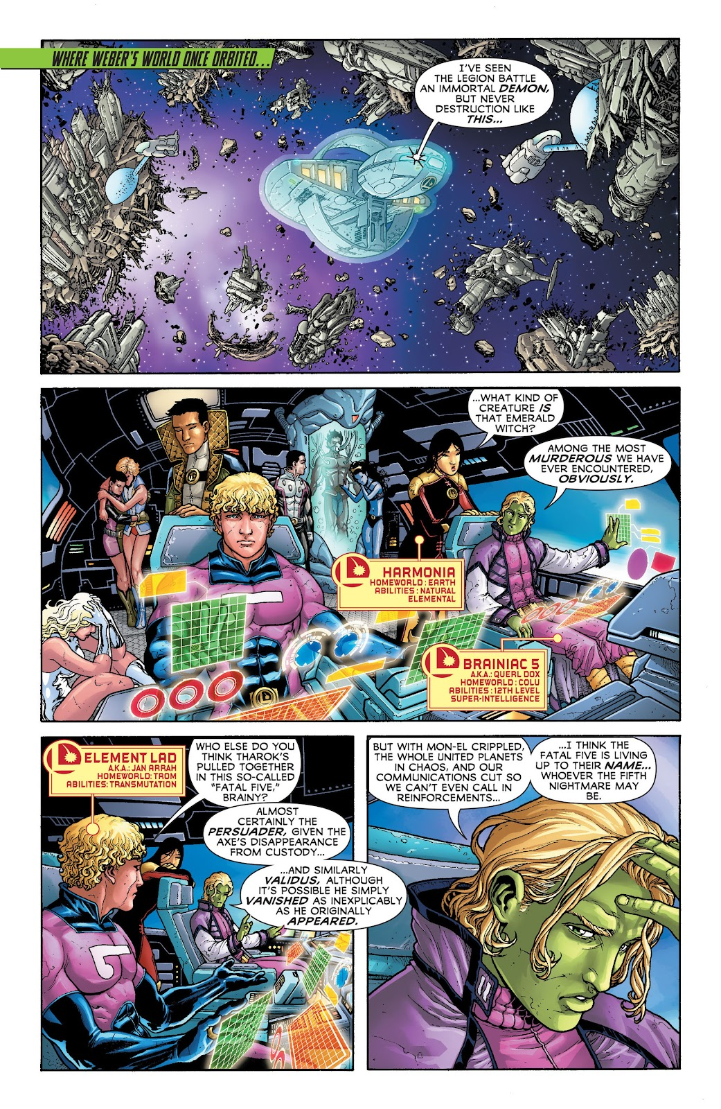 Legion of Super-Heroes (2011) Issue #20 #21 - English 16