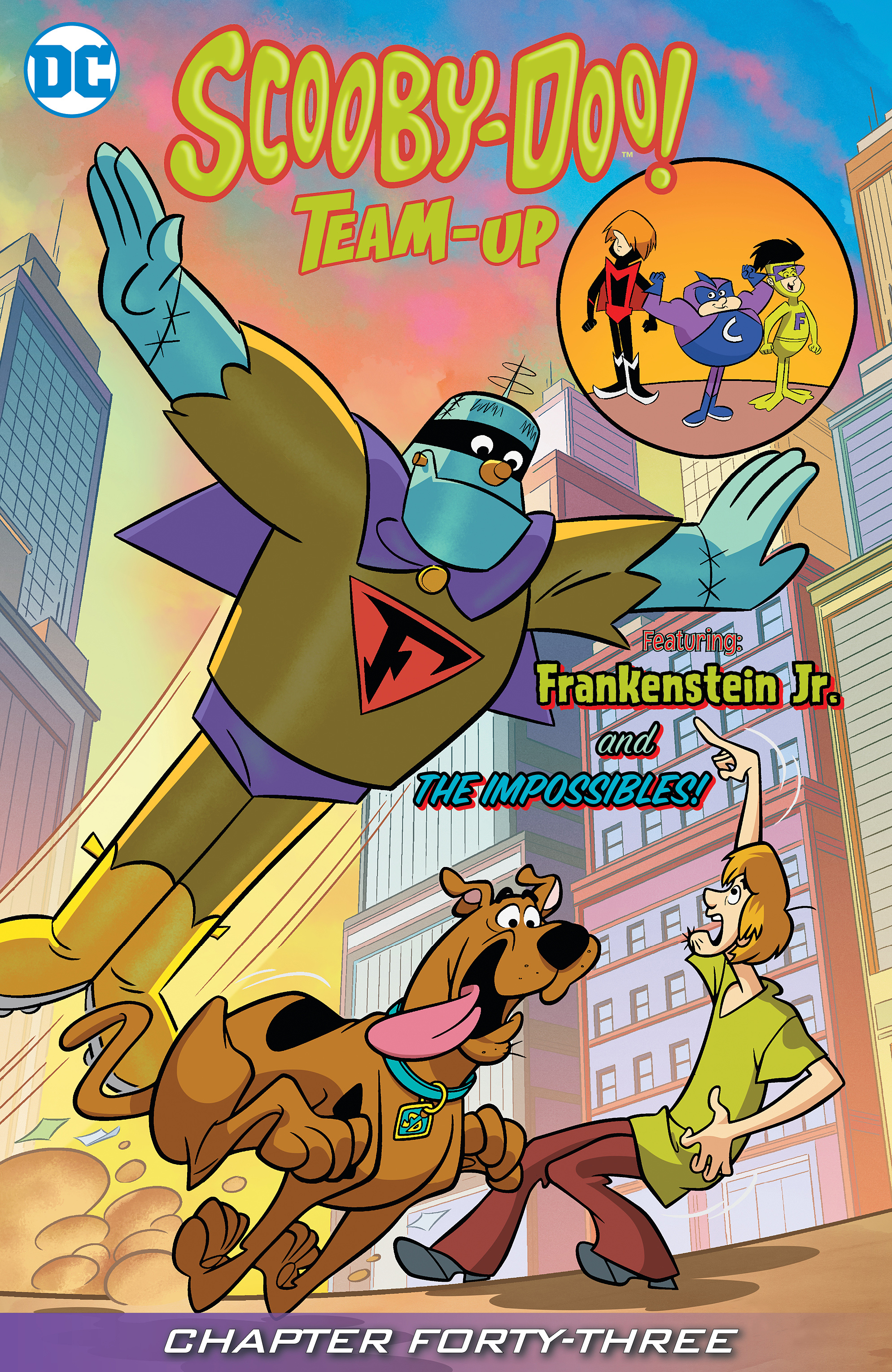 Read online Scooby-Doo! Team-Up comic -  Issue #43 - 2