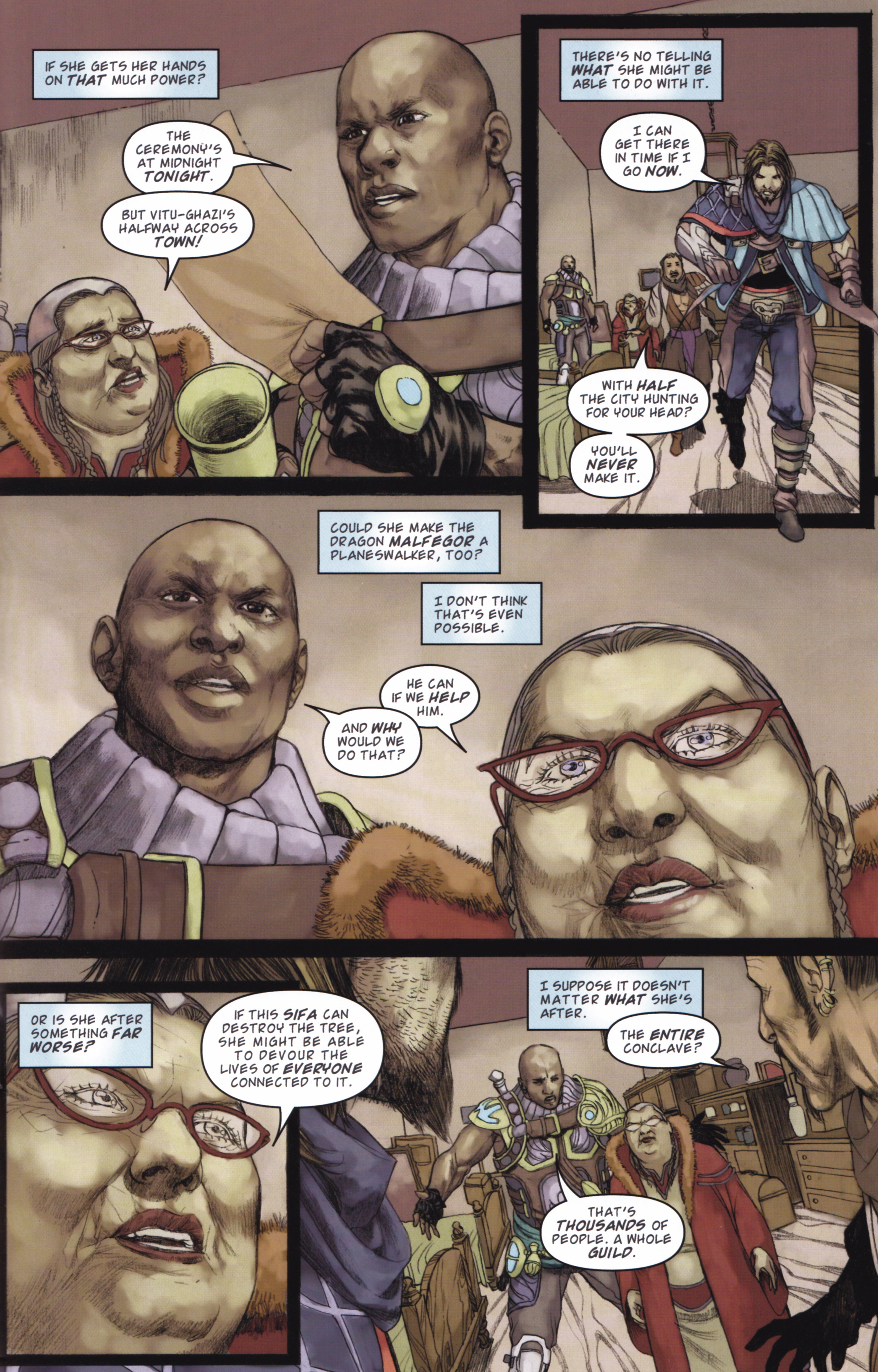 Read online Magic: The Gathering--Path of Vengeance comic -  Issue #2 - 23