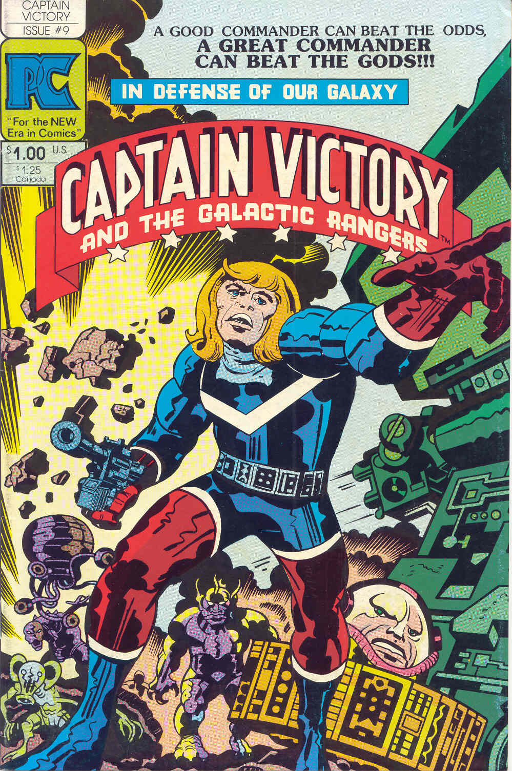 Captain Victory and the Galactic Rangers (1981) 9 Page 1