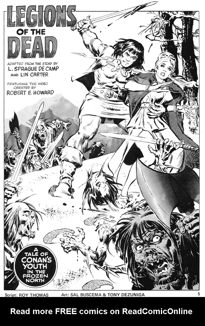 The Savage Sword Of Conan Issue #39 #40 - English 5