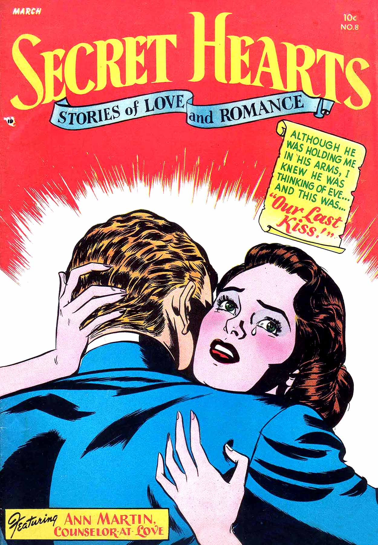 Read online Secret Hearts comic -  Issue #8 - 1