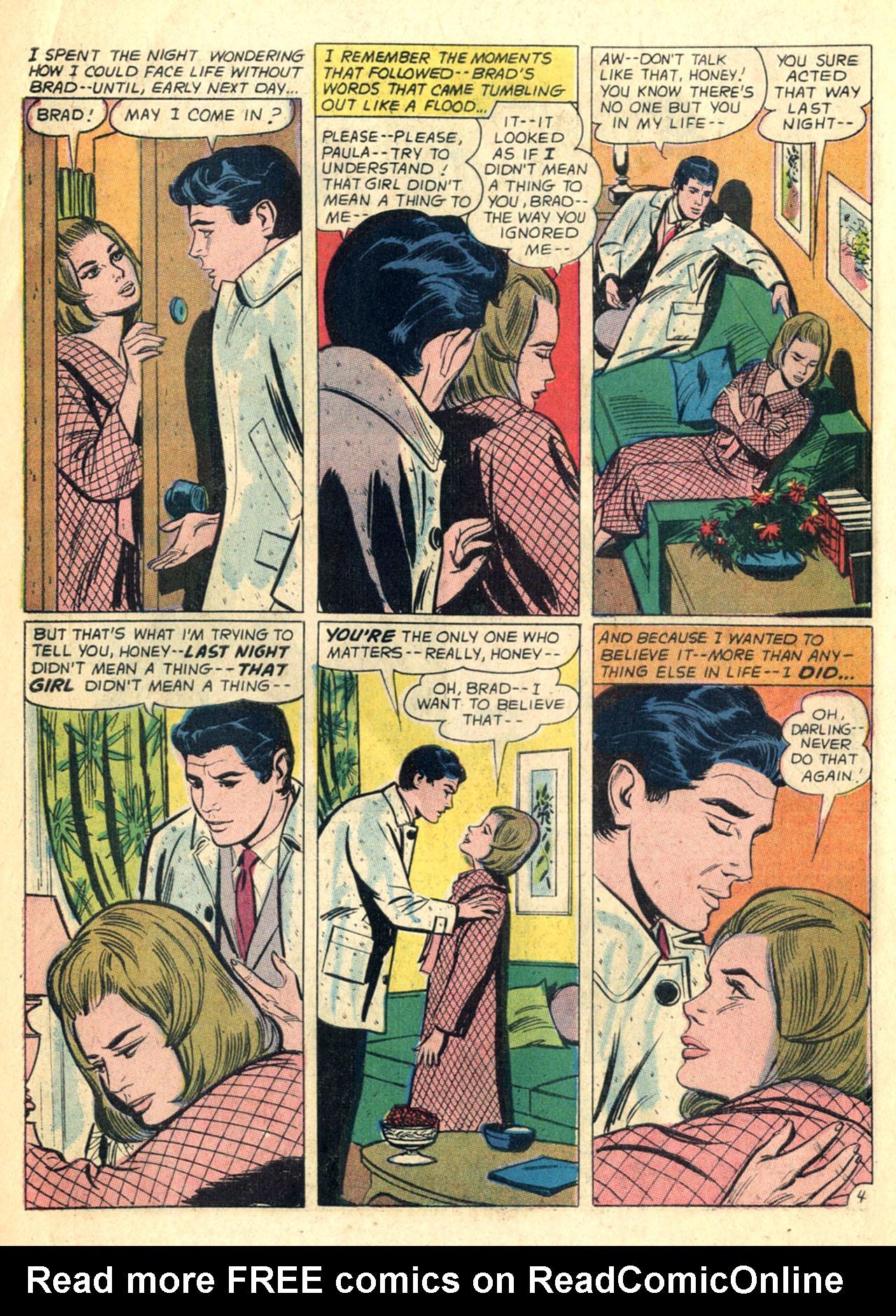 Read online Secret Hearts comic -  Issue #110 - 6