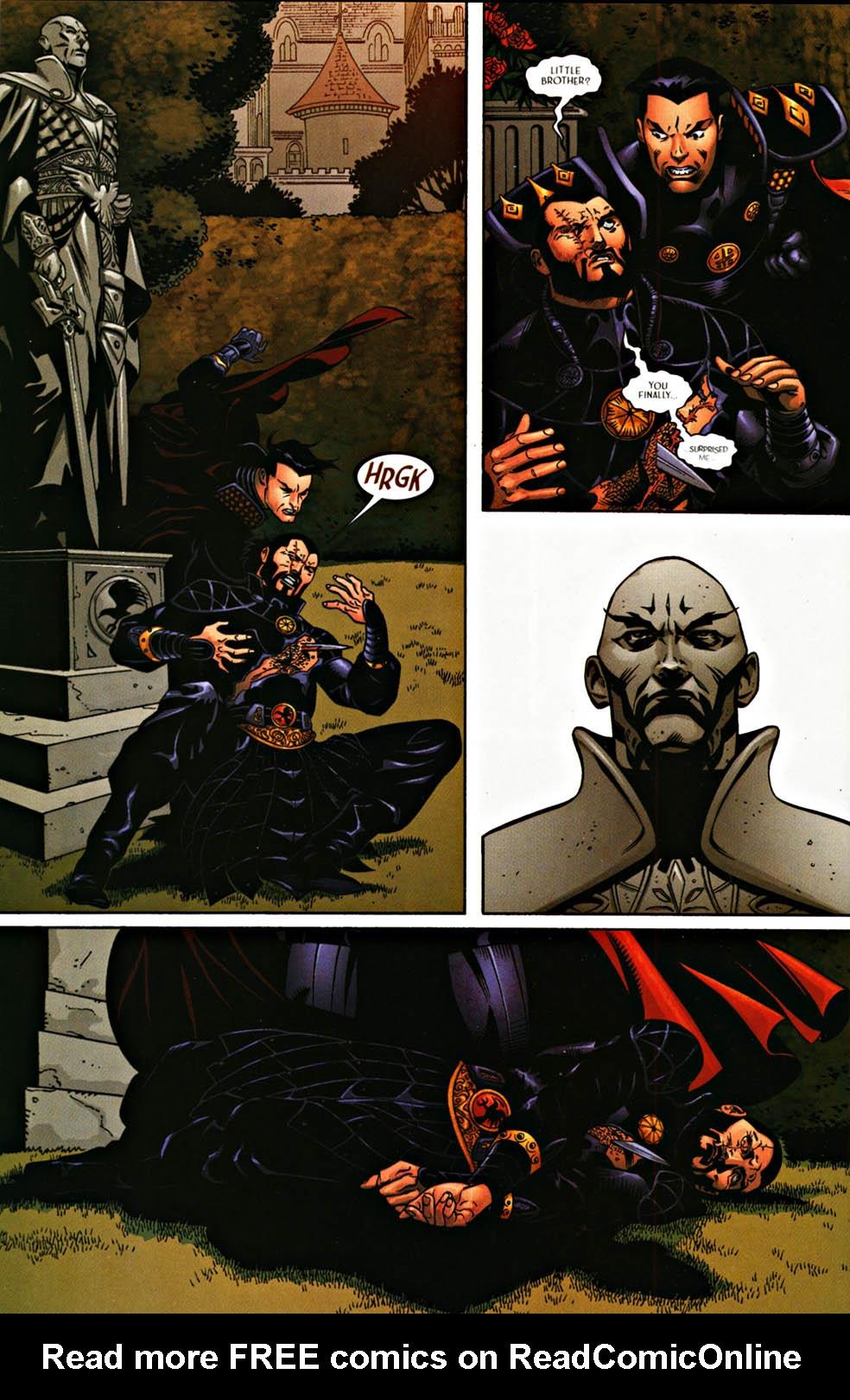 Read online Scion comic -  Issue #37 - 22