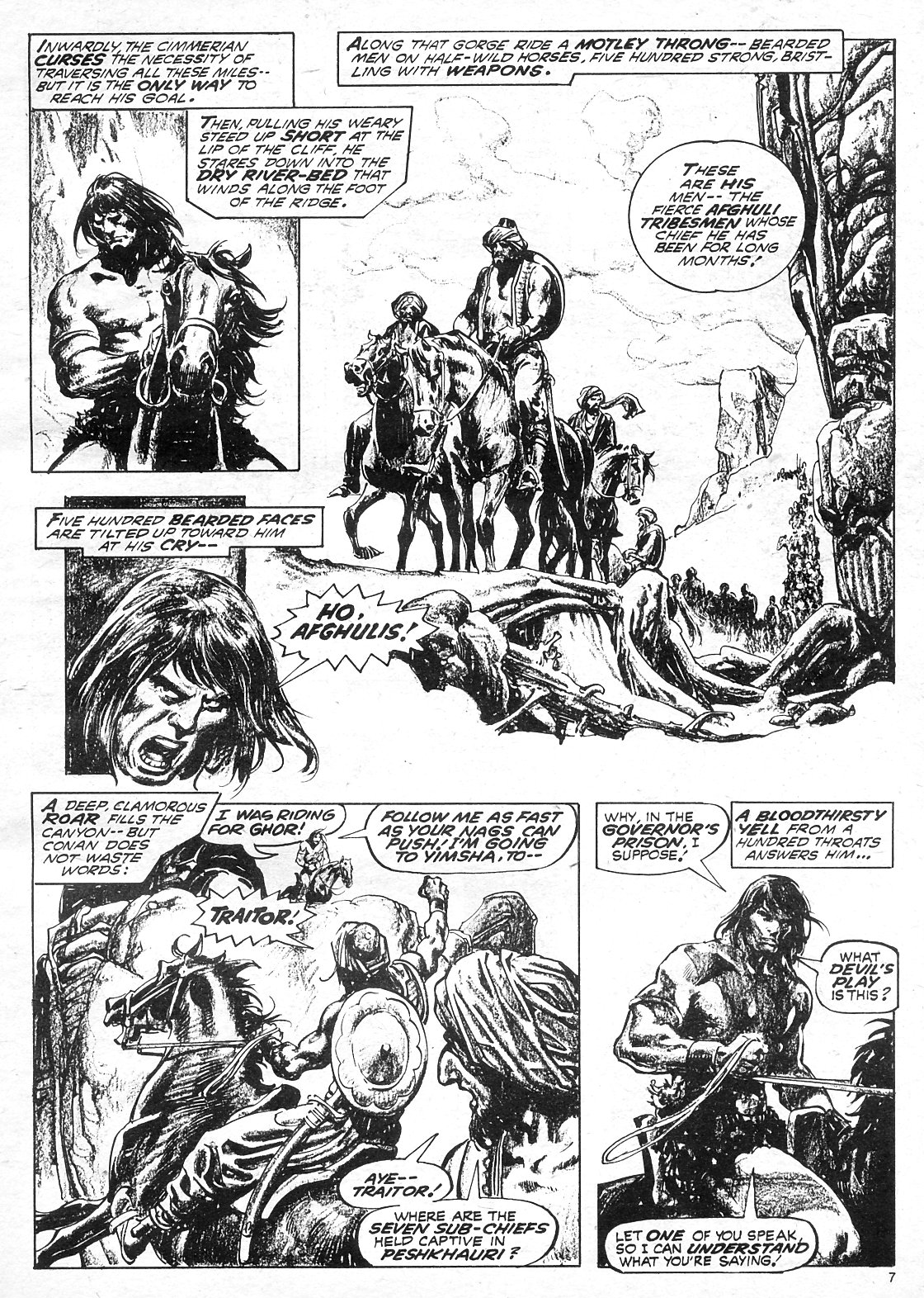 The Savage Sword Of Conan Issue #18 #19 - English 7