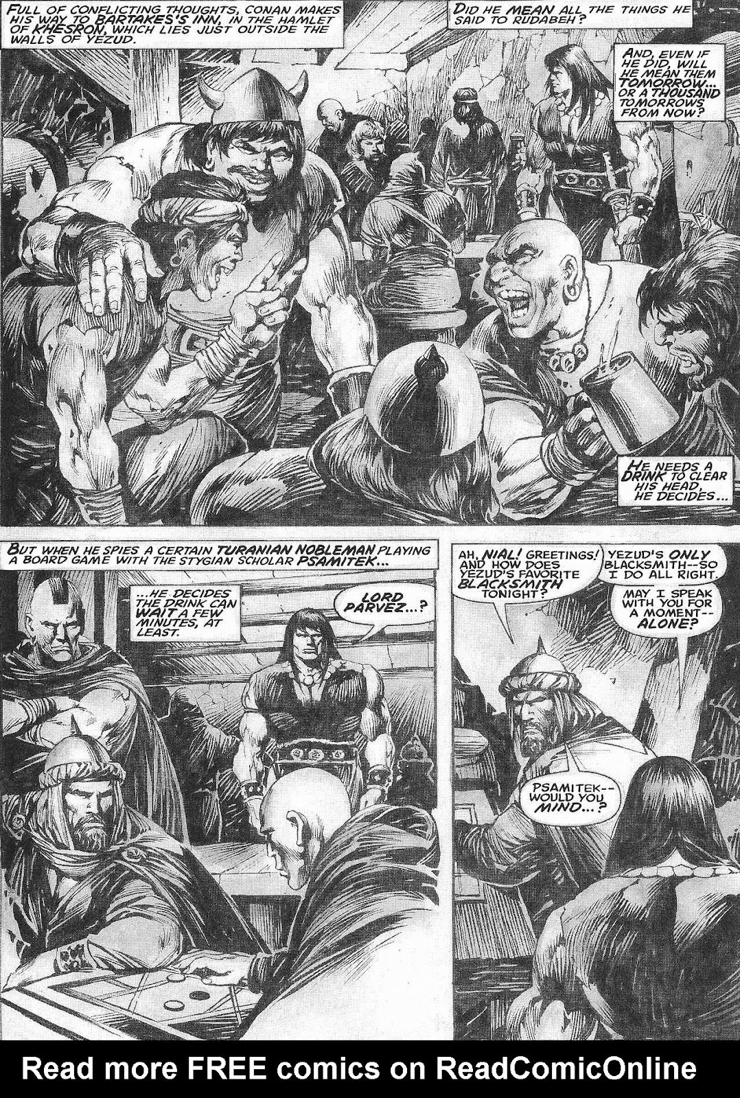 The Savage Sword Of Conan Issue #209 #210 - English 15