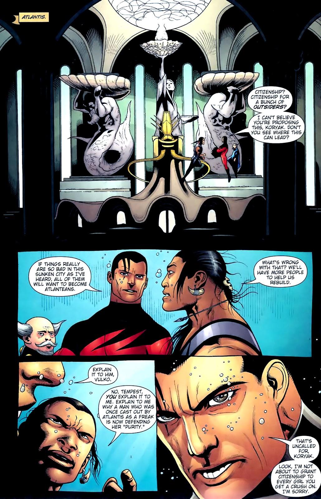 Aquaman (2003) Issue #32 #32 - English 19