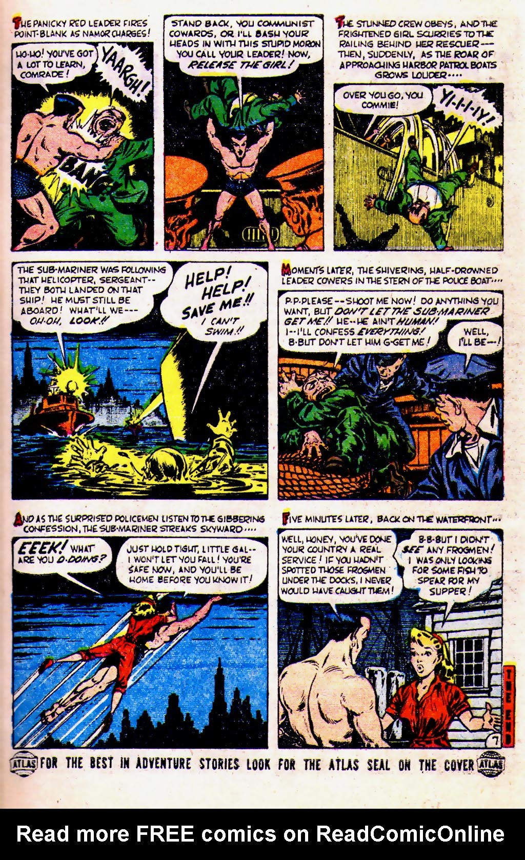 Sub-Mariner Comics #39 #39 - English 9