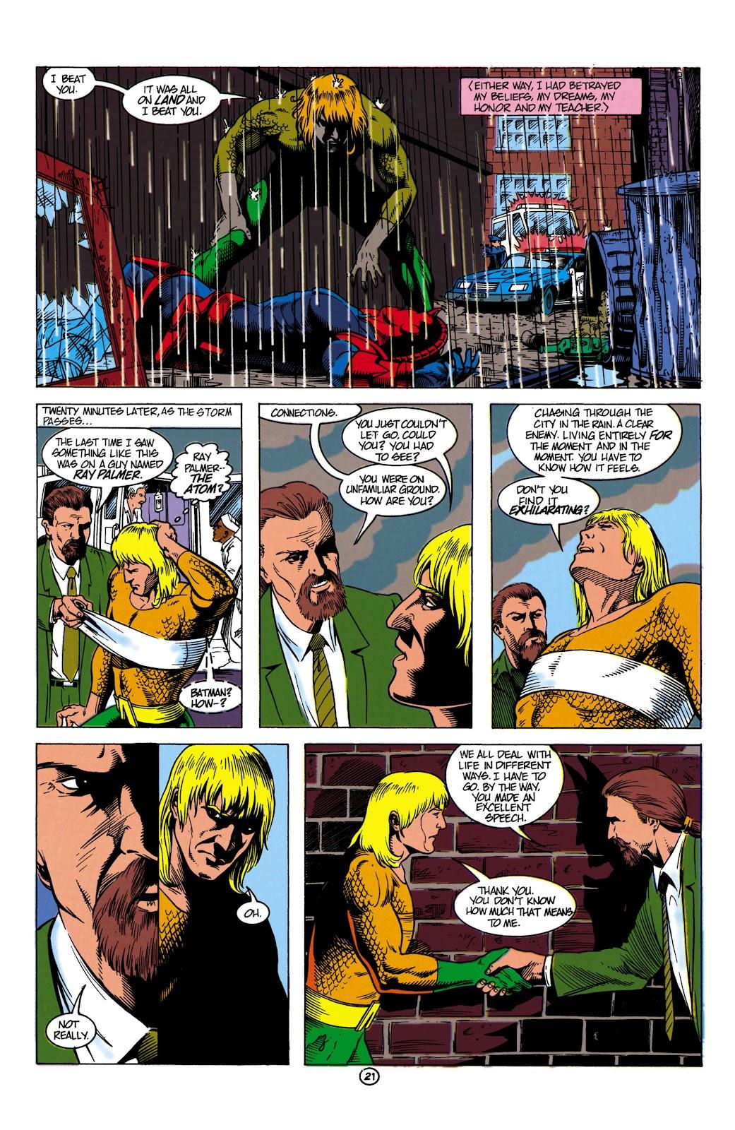 Aquaman (1991) Issue #8 #8 - English 22