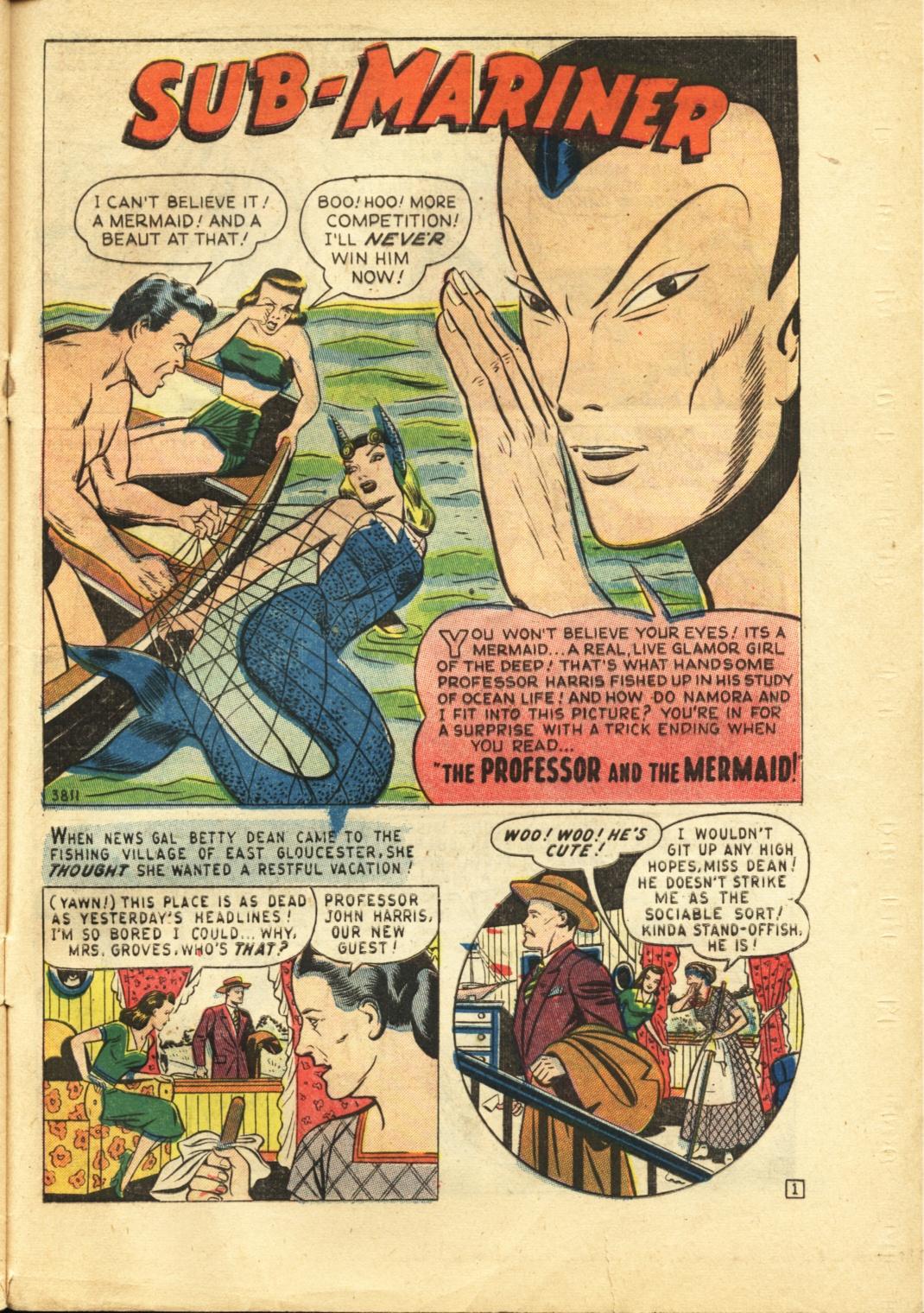Sub-Mariner Comics #29 #29 - English 28
