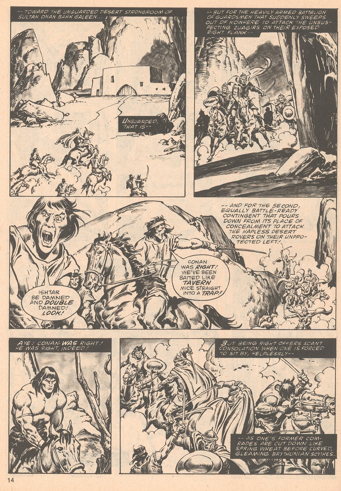 The Savage Sword Of Conan Issue #63 #64 - English 14