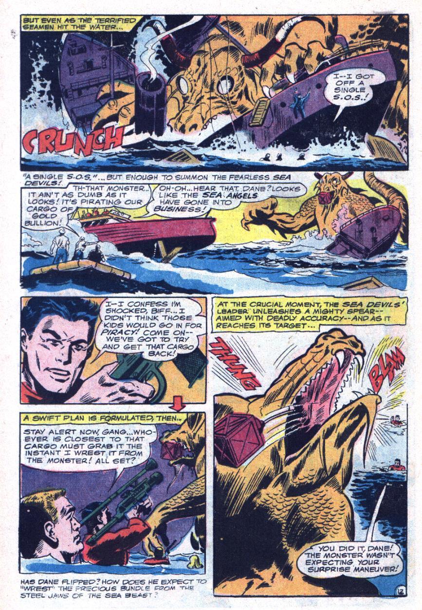 Read online Sea Devils comic -  Issue #34 - 19