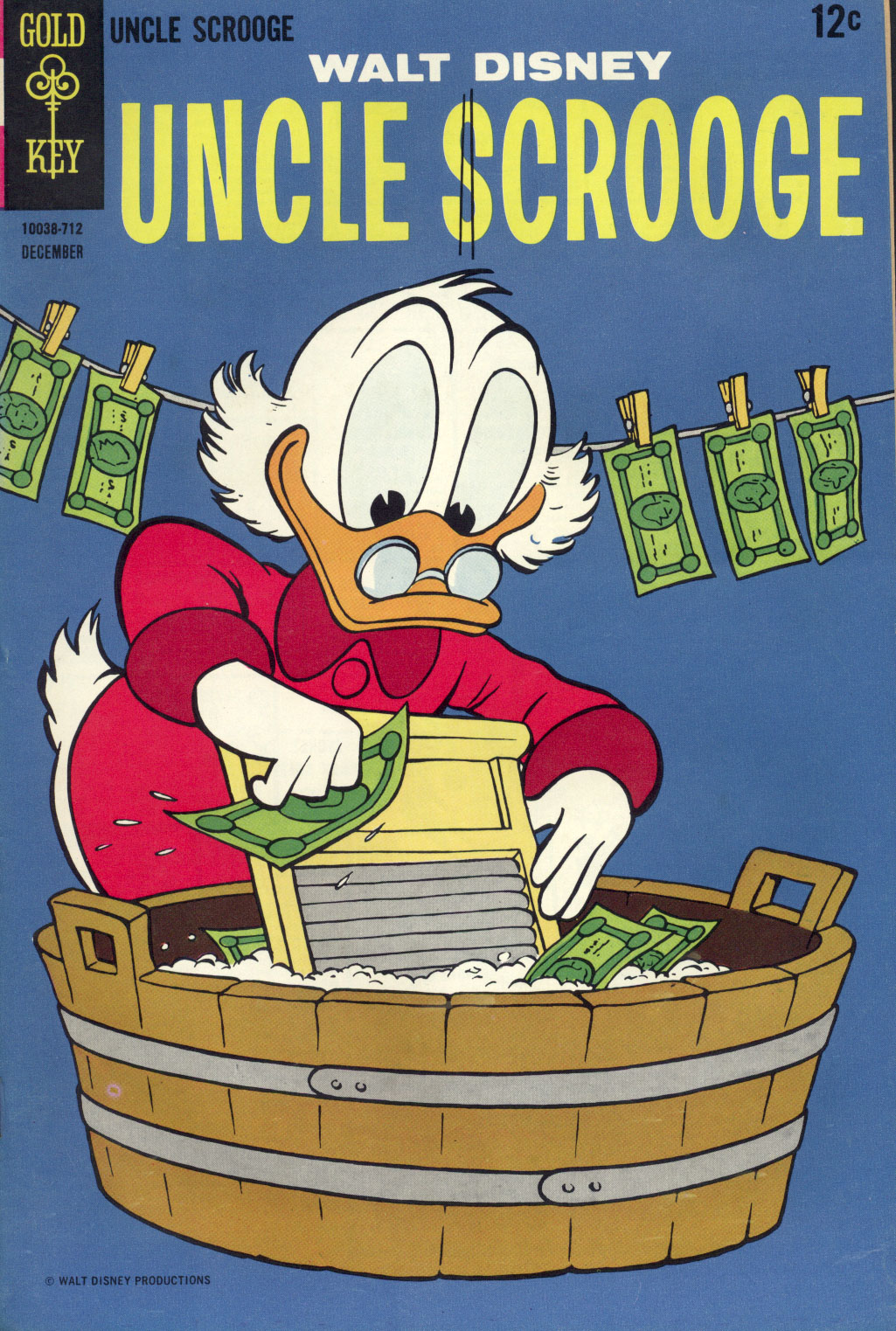 Uncle Scrooge (1953) Issue #72 #72 - English 1
