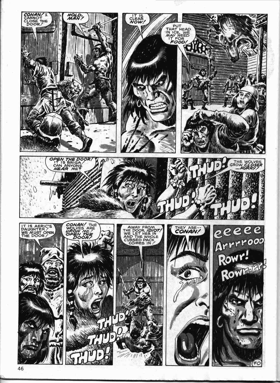 The Savage Sword Of Conan Issue #133 #134 - English 45