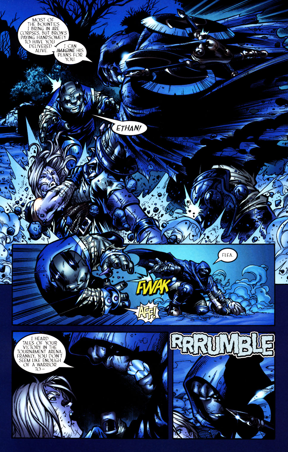 Read online Scion comic -  Issue #4 - 9
