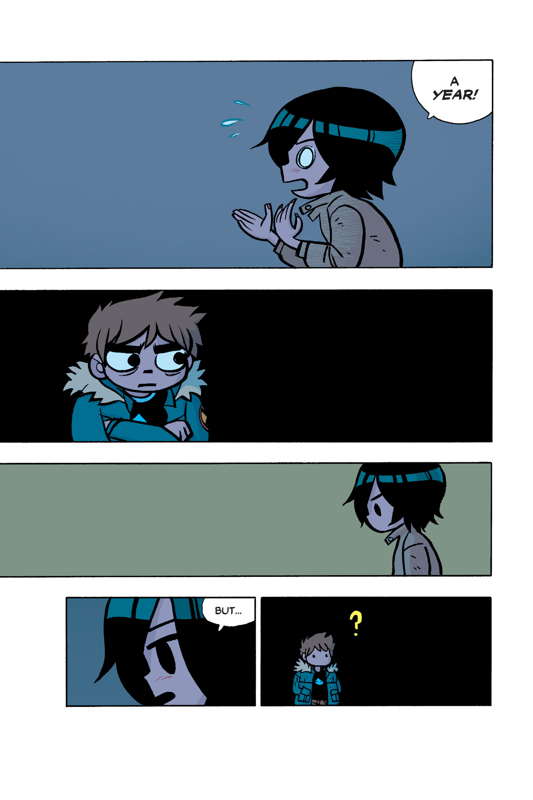 Read online Scott Pilgrim comic -  Issue #6 - 36