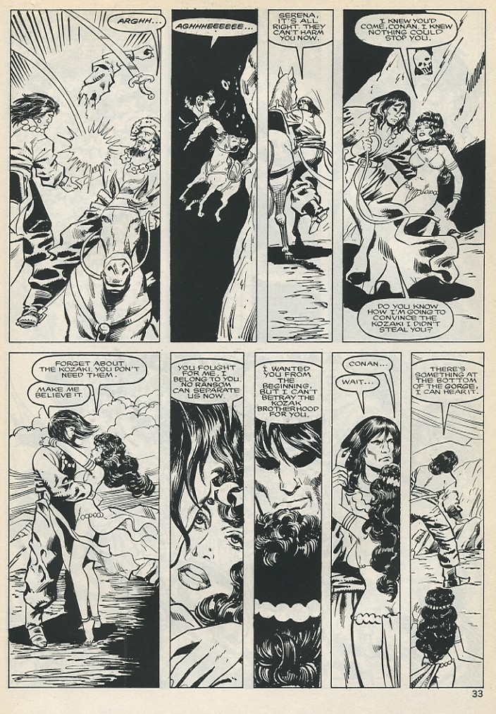 The Savage Sword Of Conan Issue #131 #132 - English 33