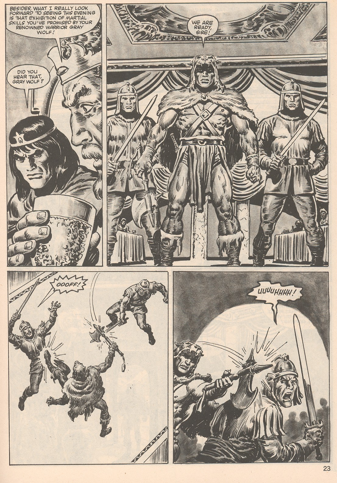 The Savage Sword Of Conan Issue #104 #105 - English 23