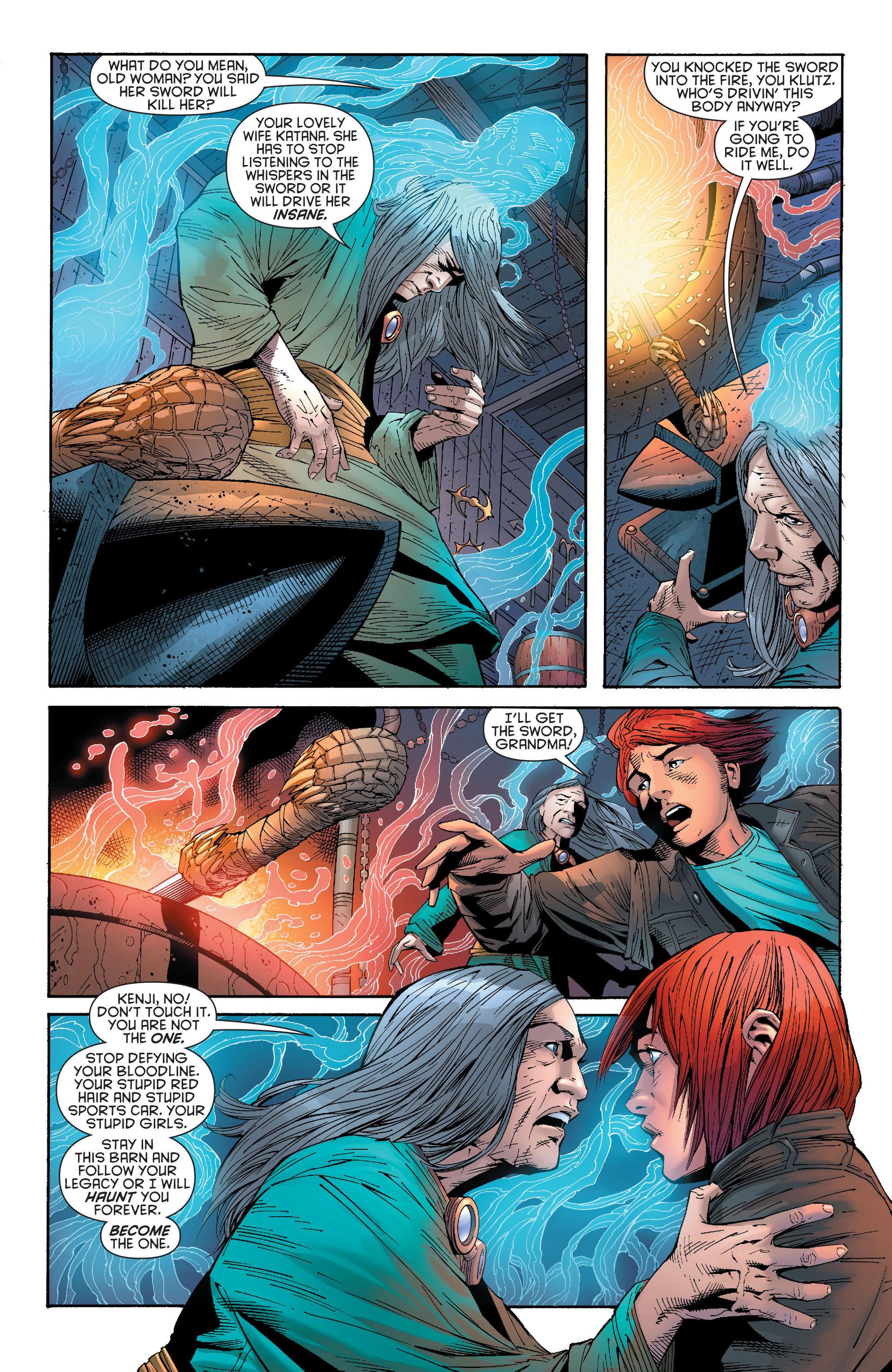 Read online Katana comic -  Issue #6 - 15