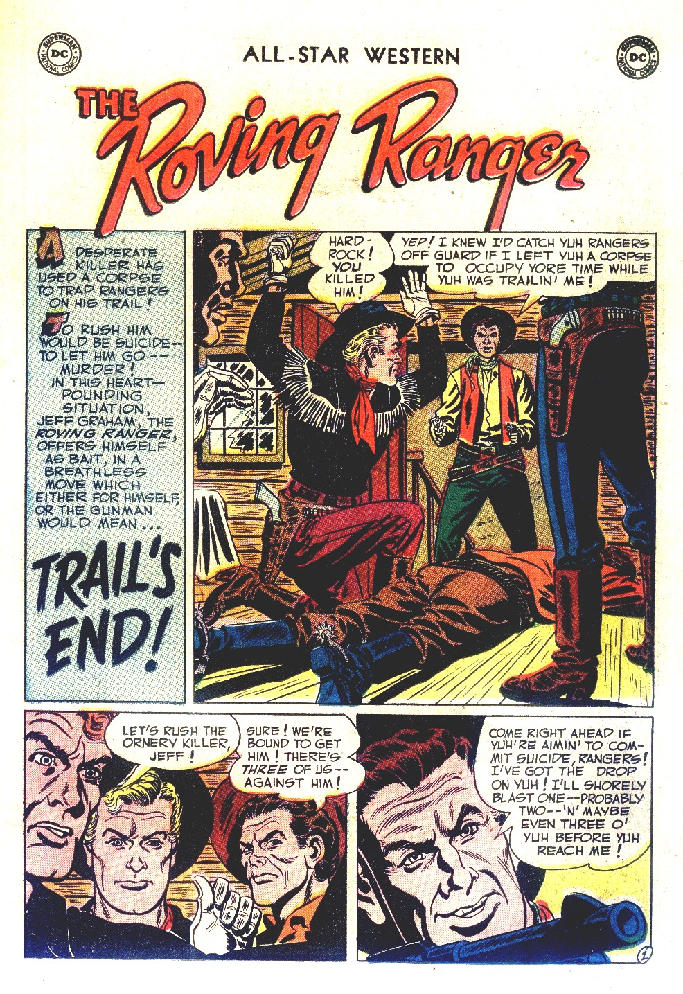 Read online All-Star Western (1951) comic -  Issue #66 - 19