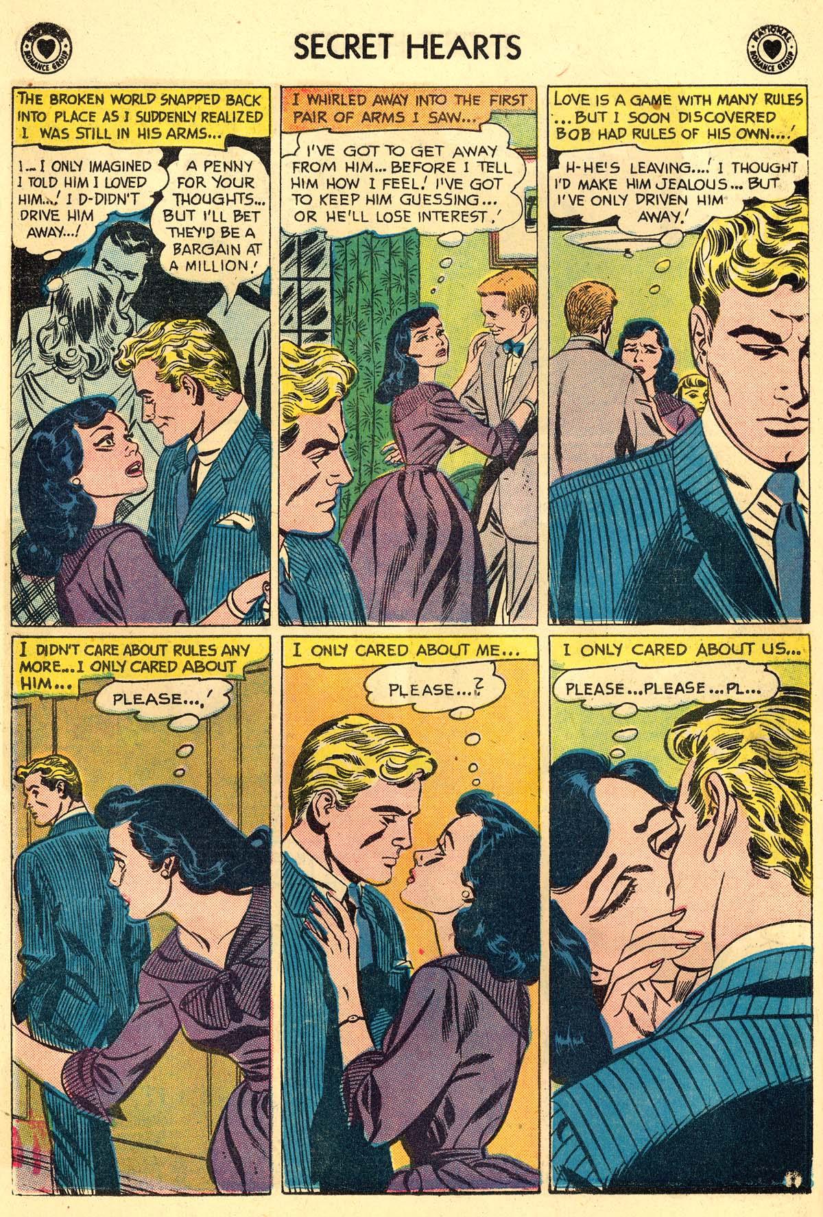 Read online Secret Hearts comic -  Issue #59 - 6
