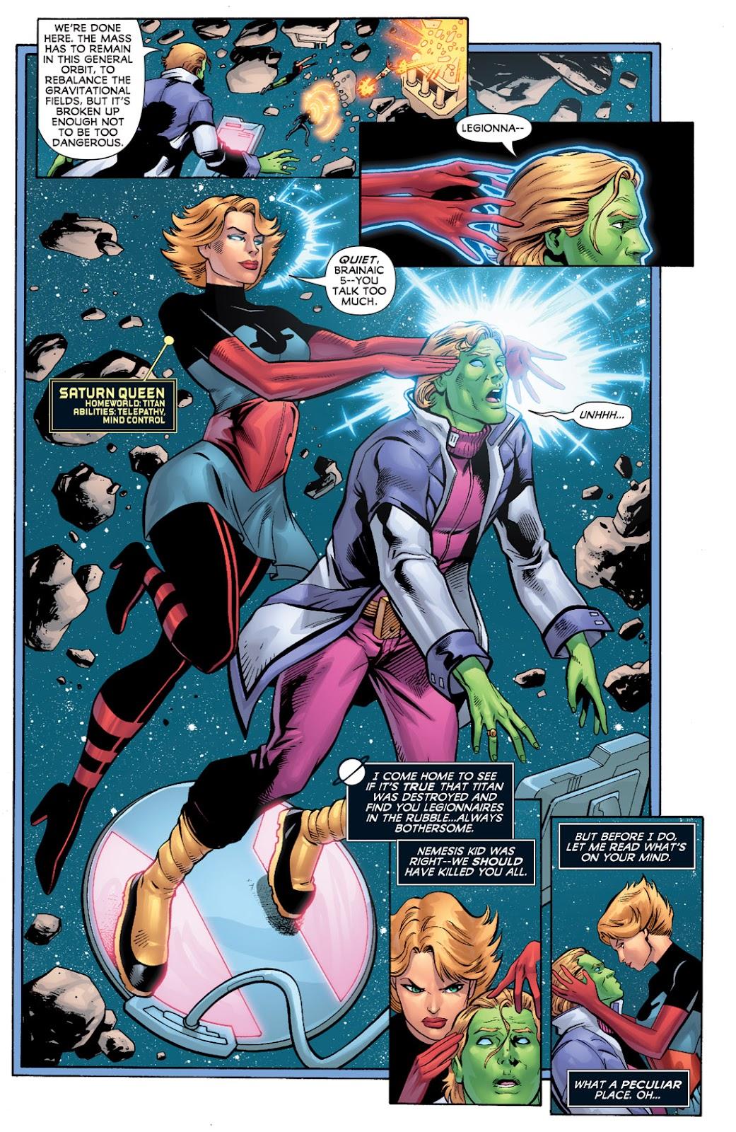 Legion of Super-Heroes (2010) Issue #2 #3 - English 8