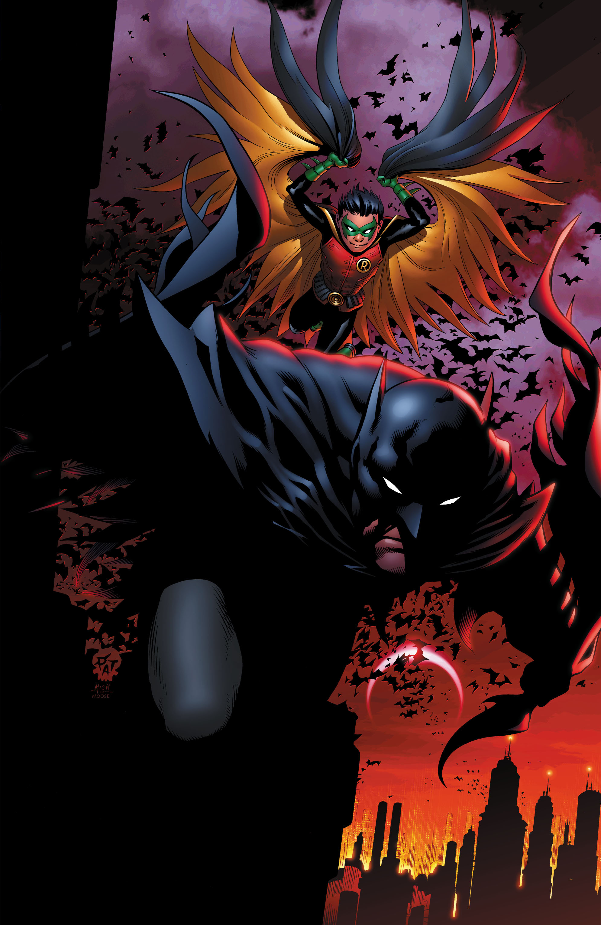 Batman and Robin (2011) chap 1 pic 5
