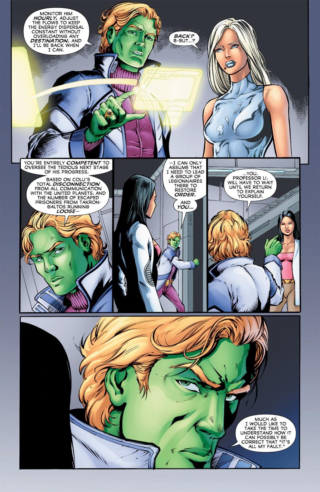 Legion of Super-Heroes (2010) Issue #12 #13 - English 8