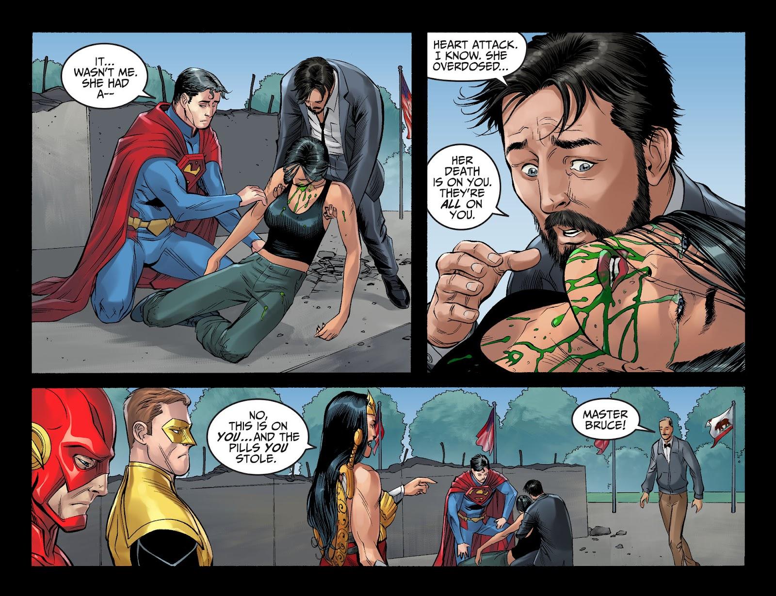 Injustice: Gods Among Us Year Four Issue #4 #5 - English 15