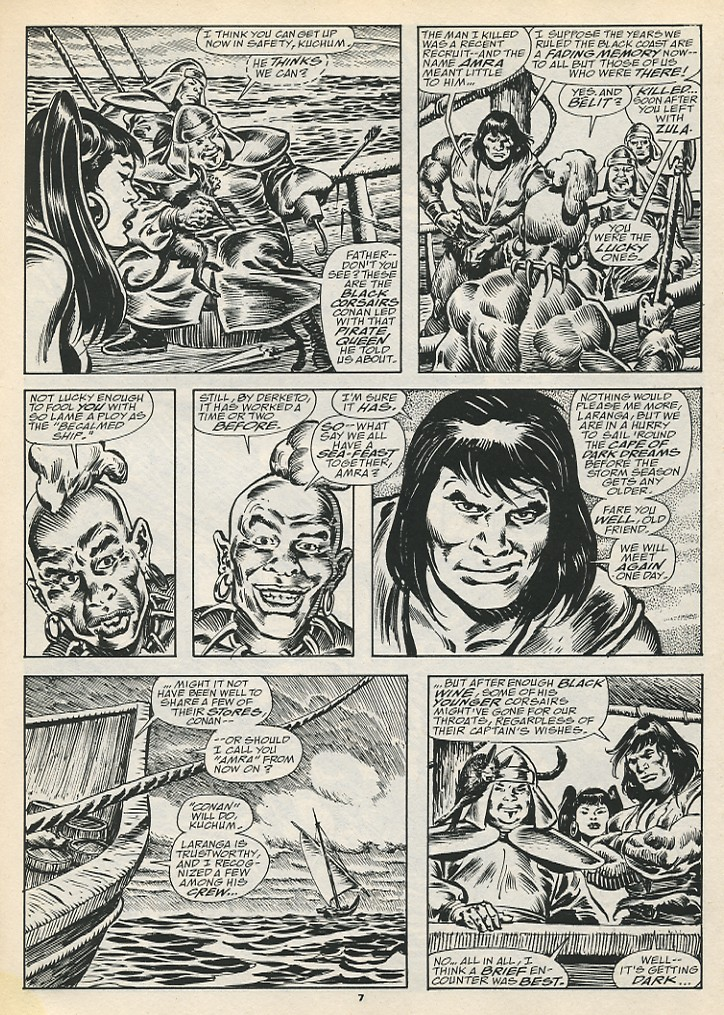 The Savage Sword Of Conan Issue #192 #193 - English 9