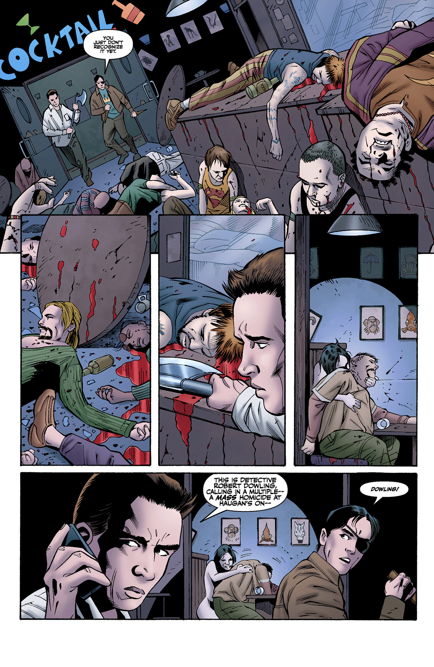 Read online Buffy the Vampire Slayer Season Nine comic -  Issue #9 - 16