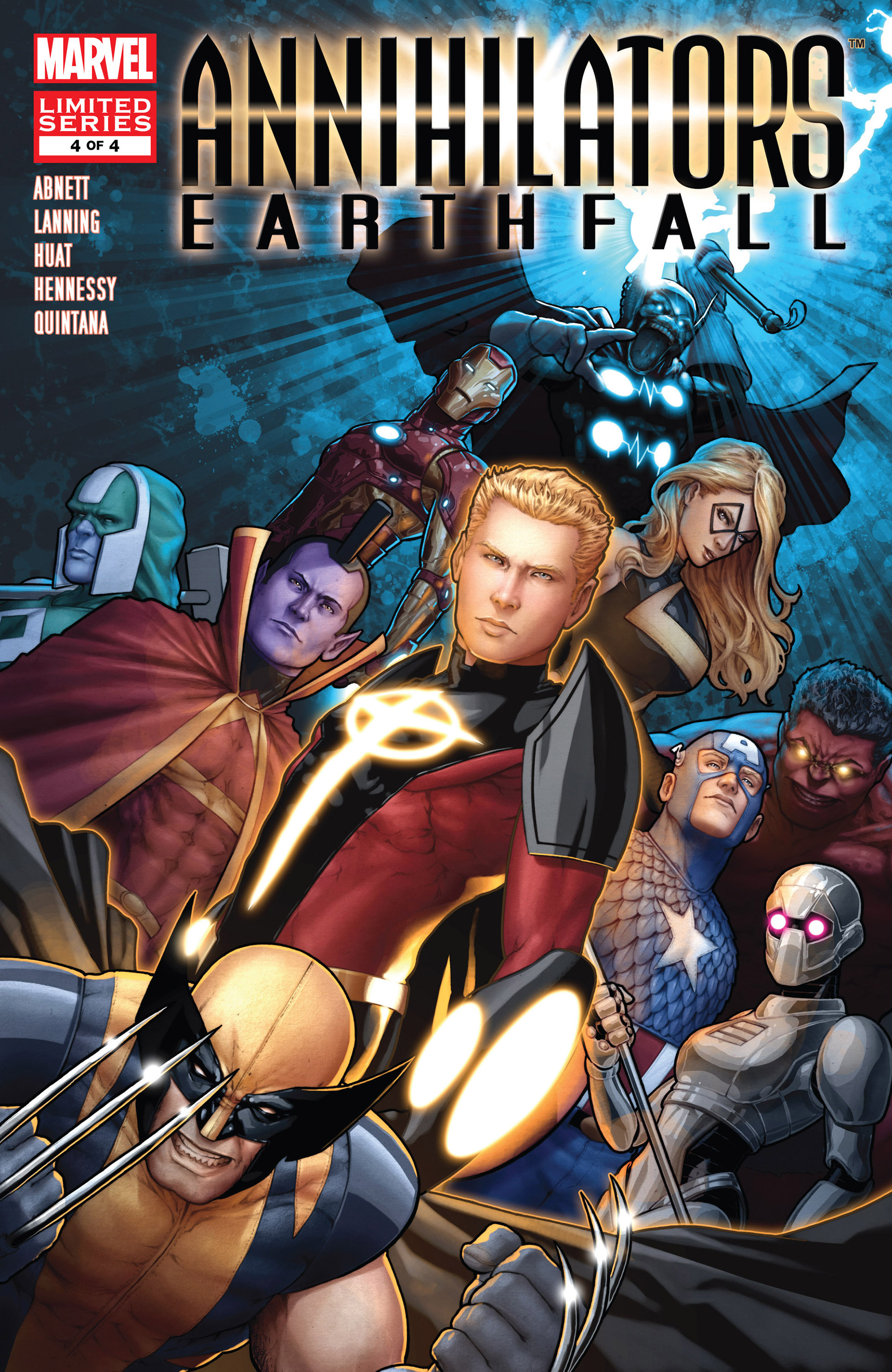 Annihilators: Earthfall 4 Page 1