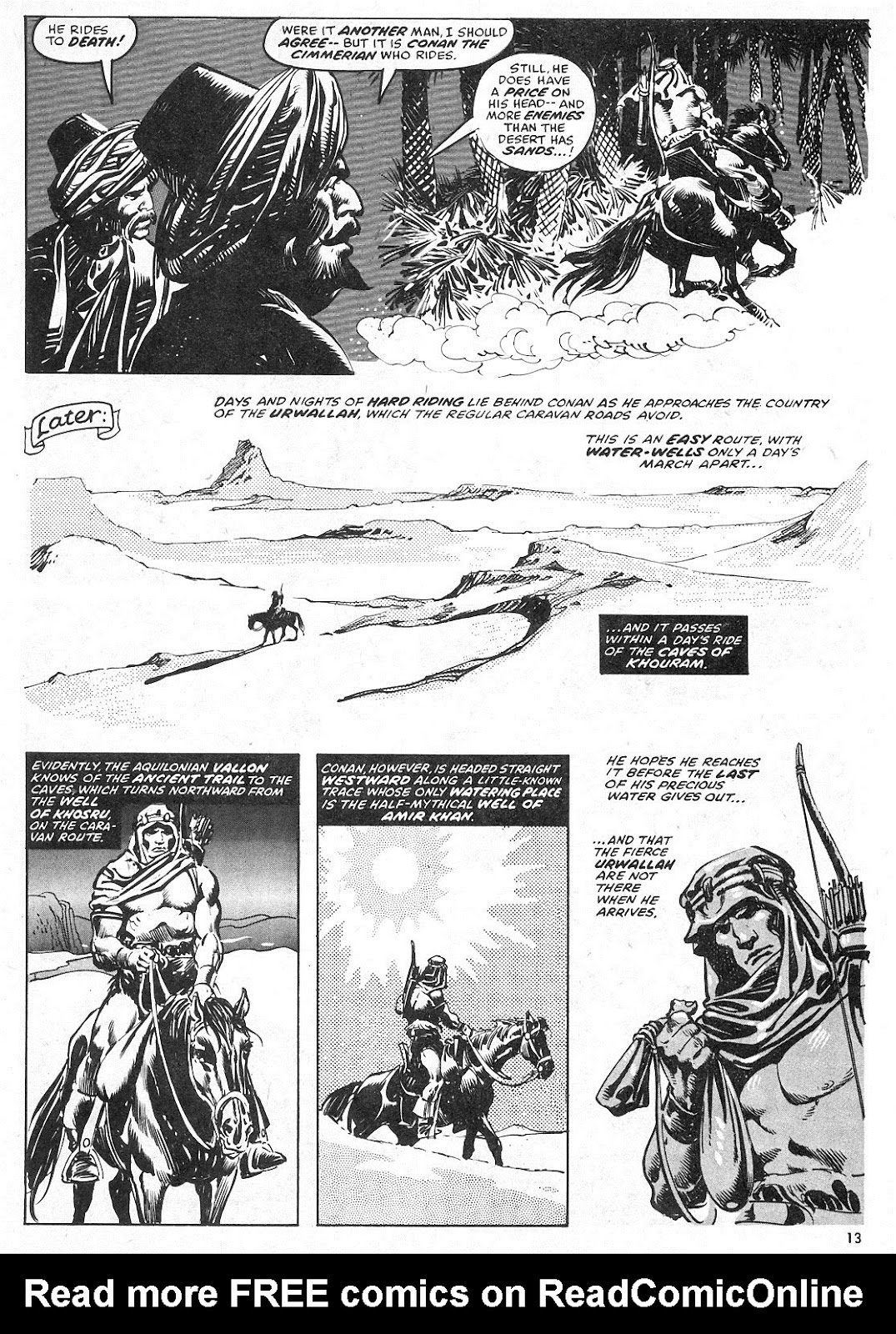 The Savage Sword Of Conan Issue #28 #29 - English 13