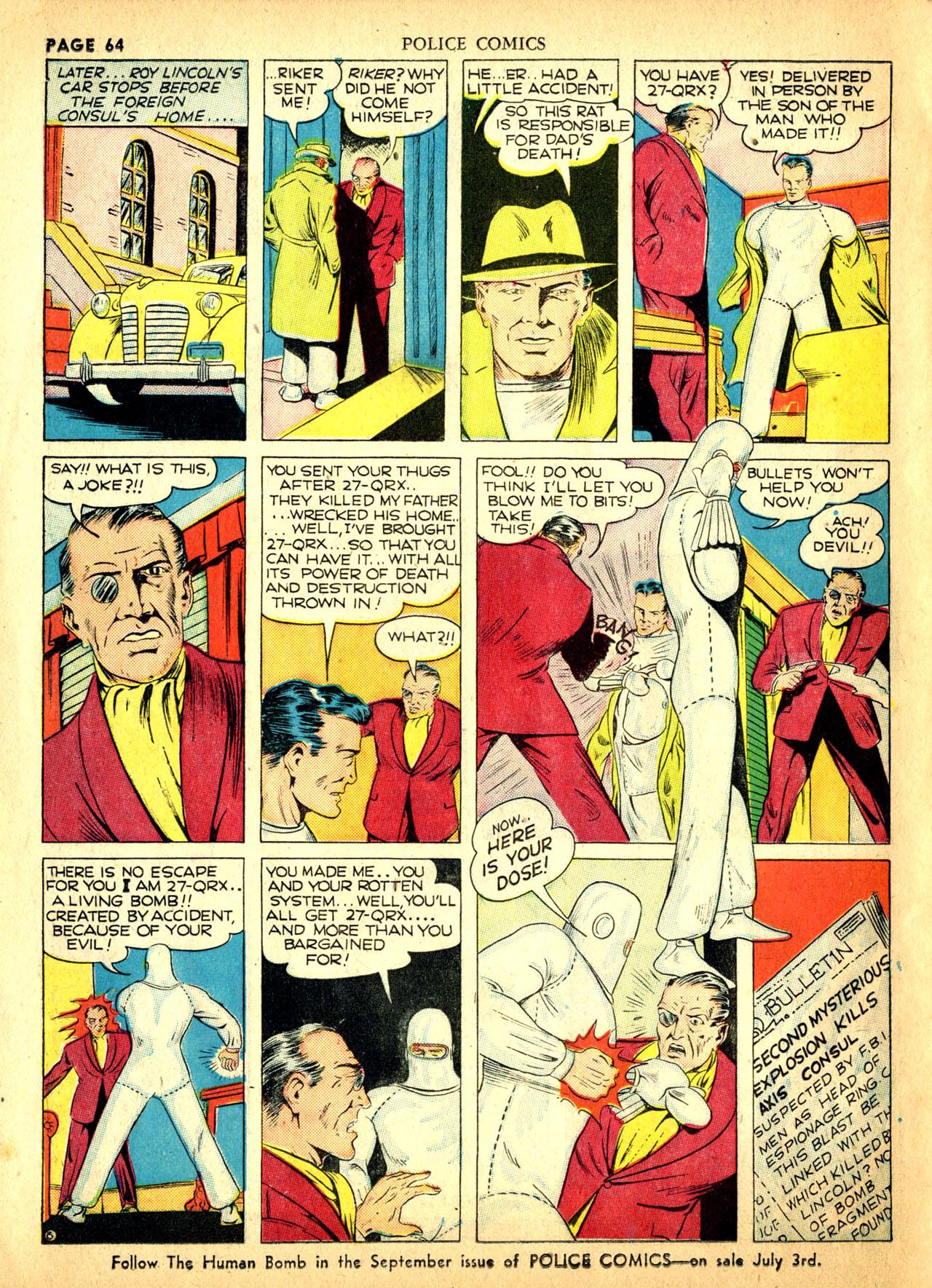 Police Comics #1 #127 - English 67