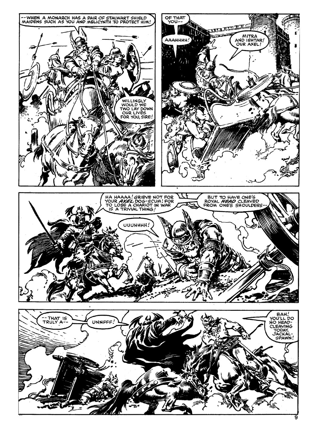 The Savage Sword Of Conan Issue #90 #91 - English 8