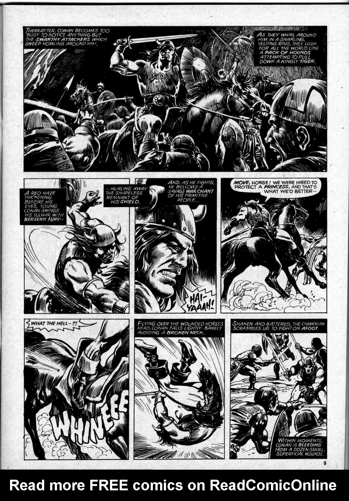 The Savage Sword Of Conan Issue #59 #60 - English 9