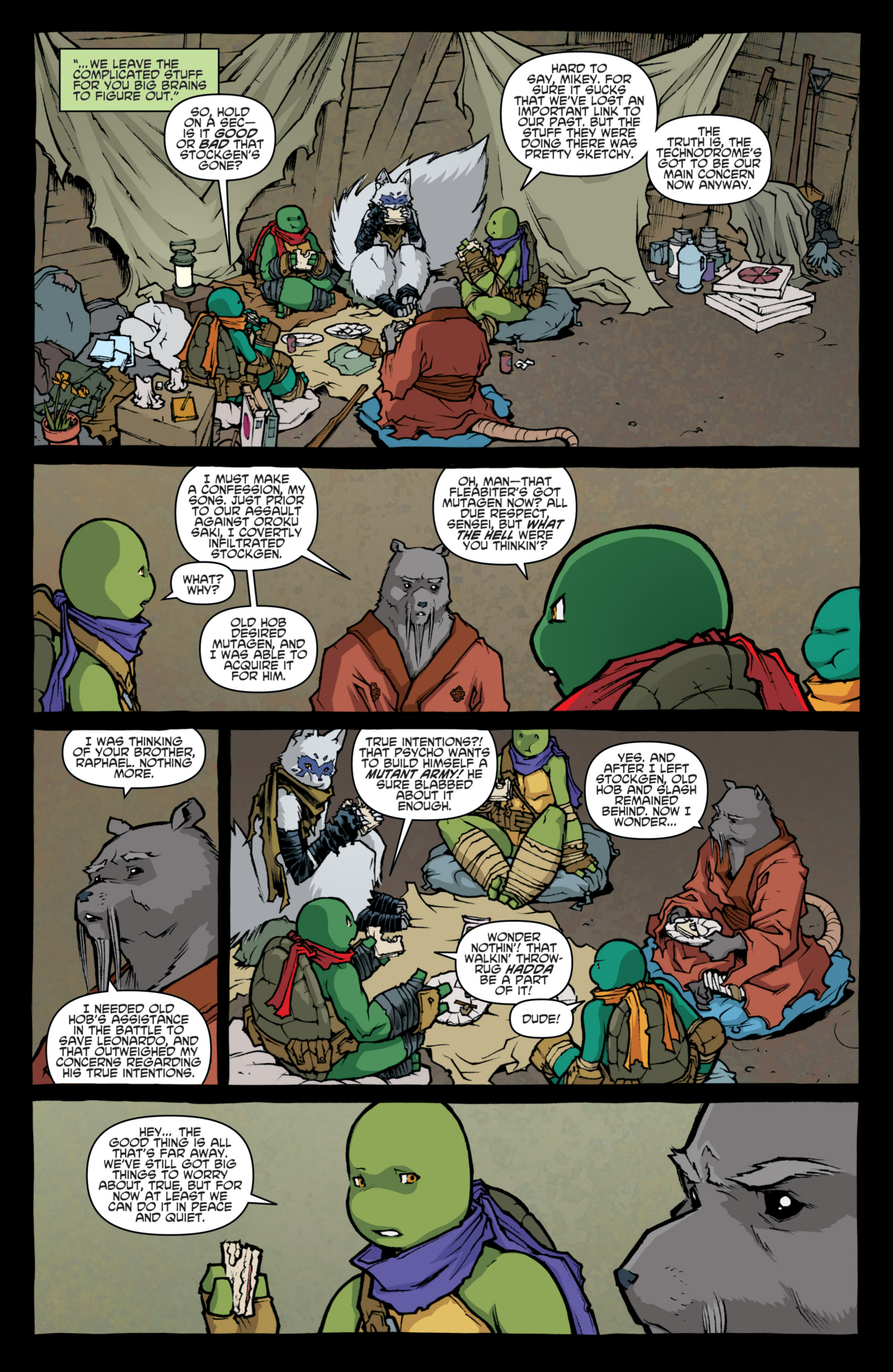 Read online Teenage Mutant Ninja Turtles (2011) comic -  Issue #31 - 19
