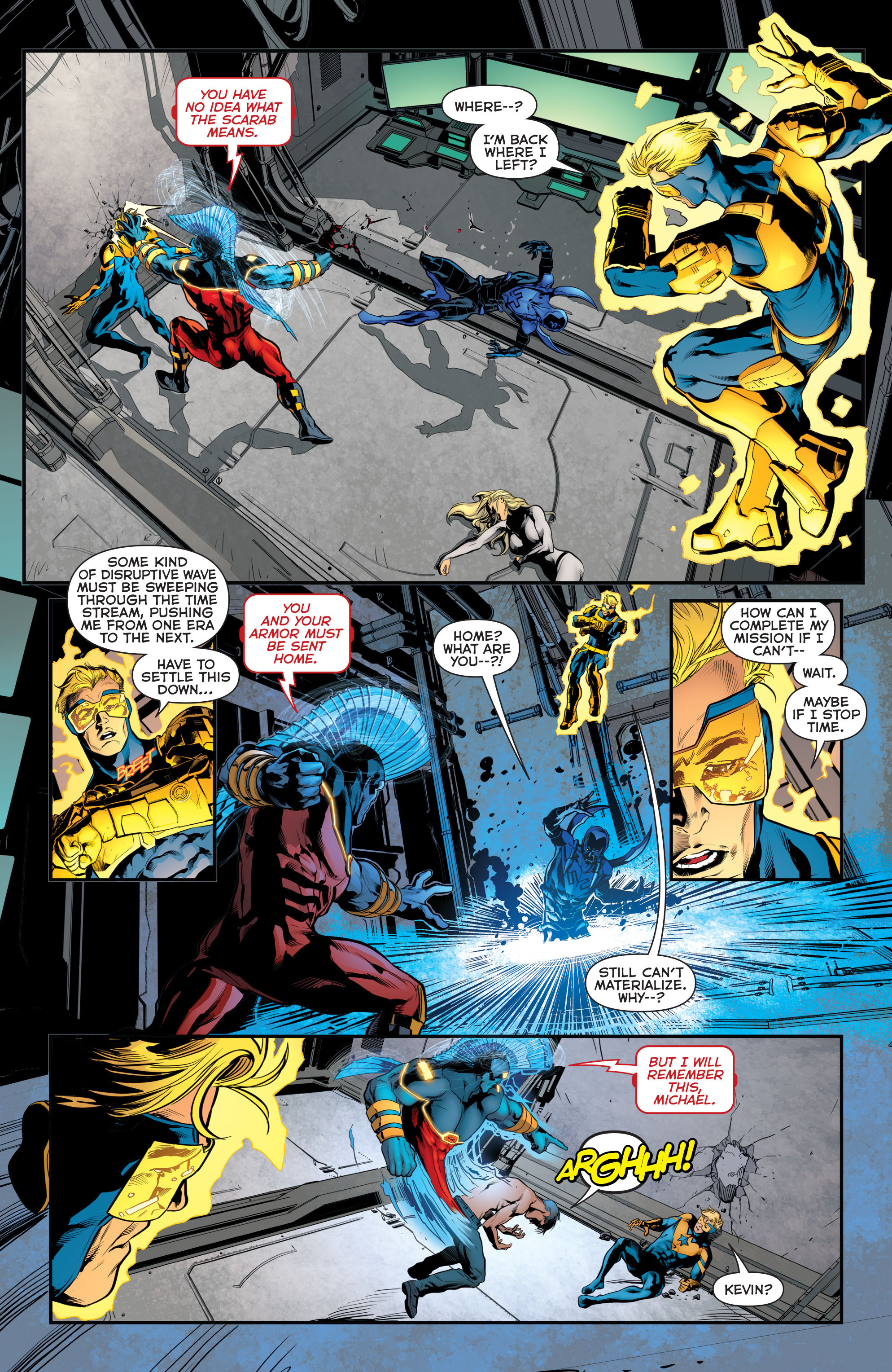 Read online Booster Gold: Futures End comic -  Issue # Full - 7