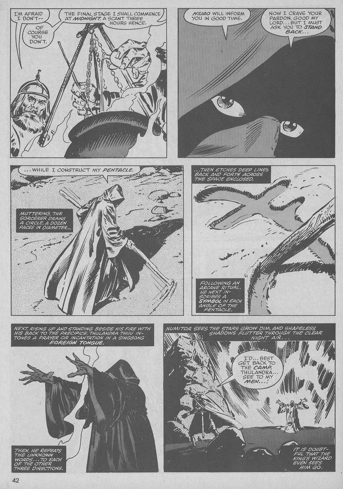 The Savage Sword Of Conan Issue #51 #52 - English 42