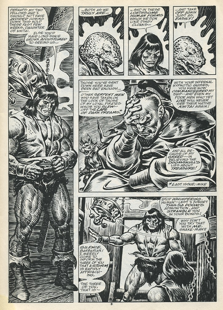 The Savage Sword Of Conan Issue #193 #194 - English 5