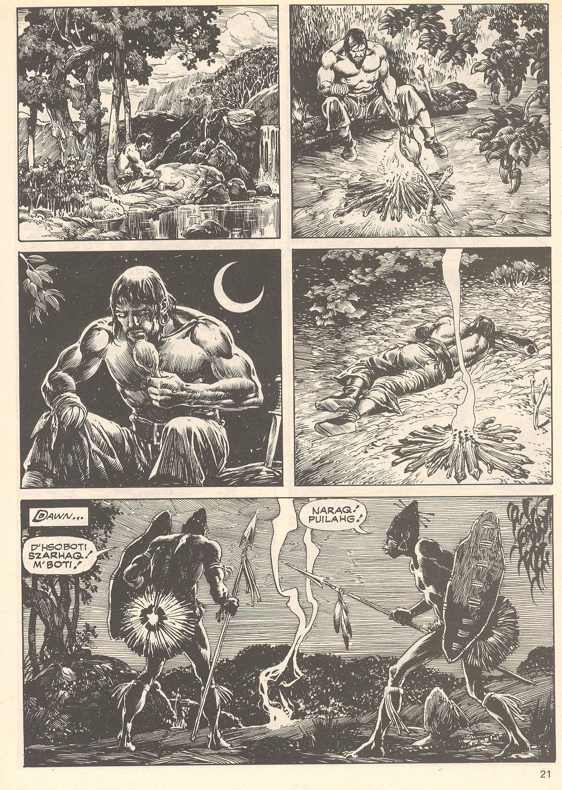 The Savage Sword Of Conan Issue #75 #76 - English 21