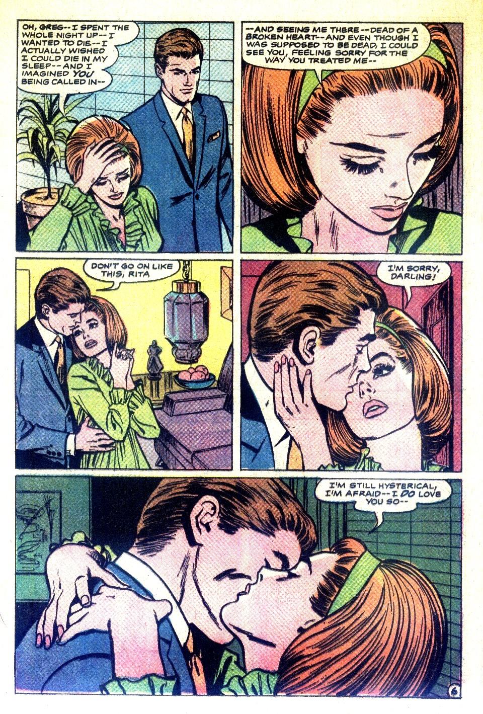 Read online Secret Hearts comic -  Issue #126 - 24
