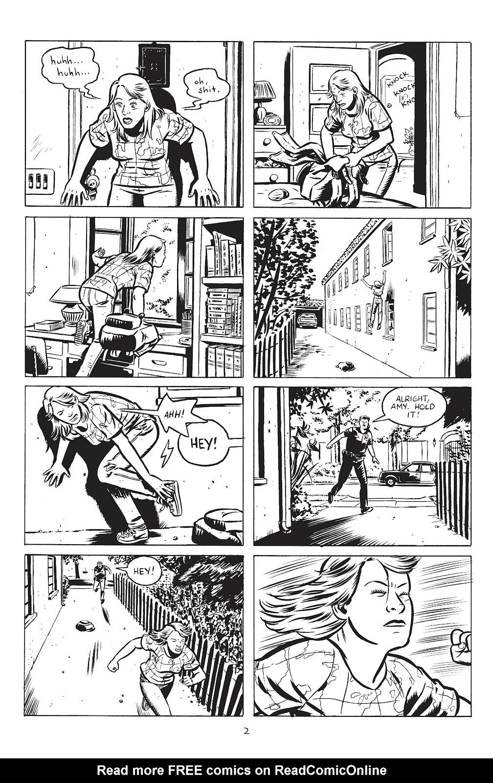 Stray Bullets Issue #25 #25 - English 4