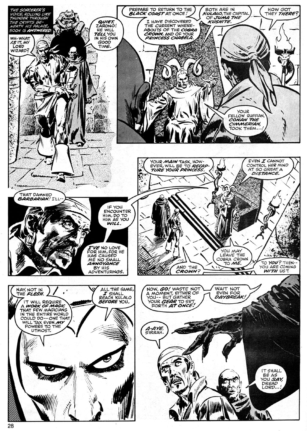 The Savage Sword Of Conan Issue #41 #42 - English 28