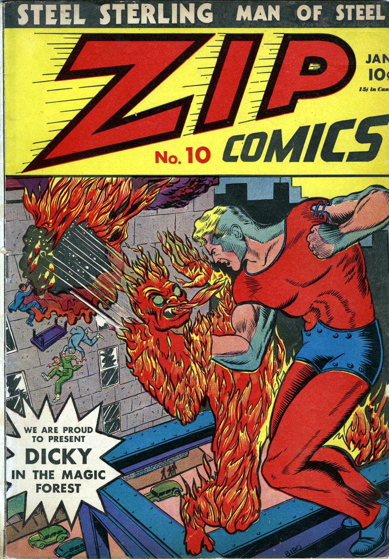 Zip Comics 10 Page 1