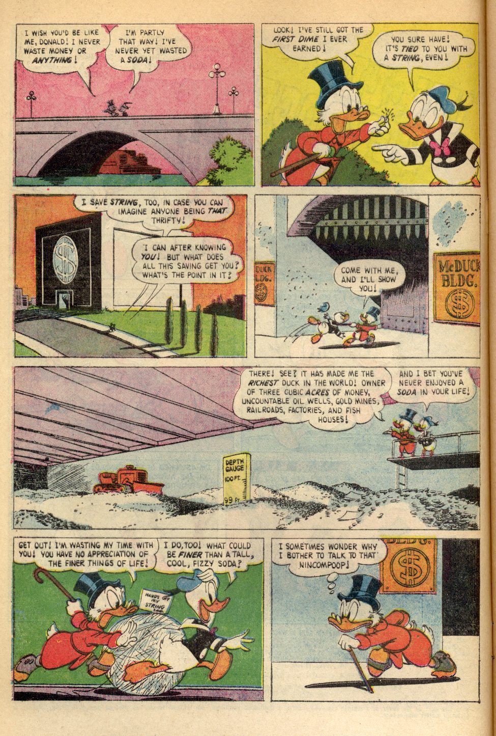 Uncle Scrooge (1953) Issue #89 #89 - English 4