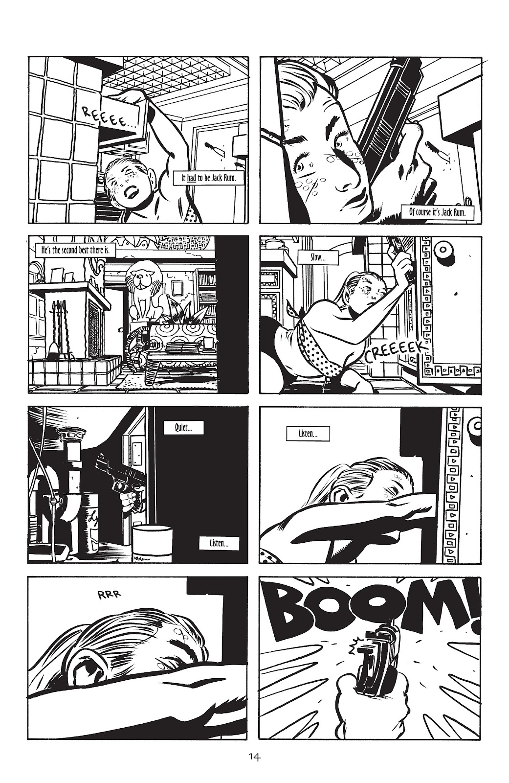 Stray Bullets Issue #10 #10 - English 16