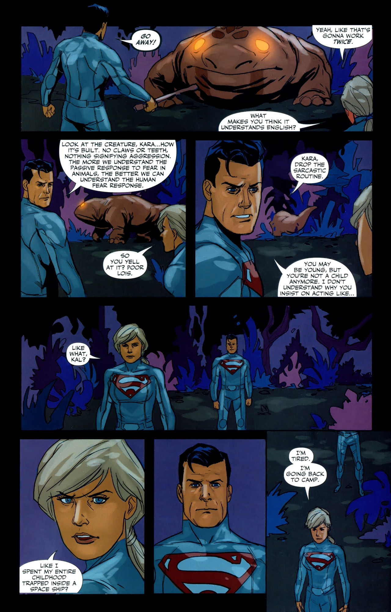 Read online Superman/Supergirl: Maelstrom comic -  Issue #3 - 7