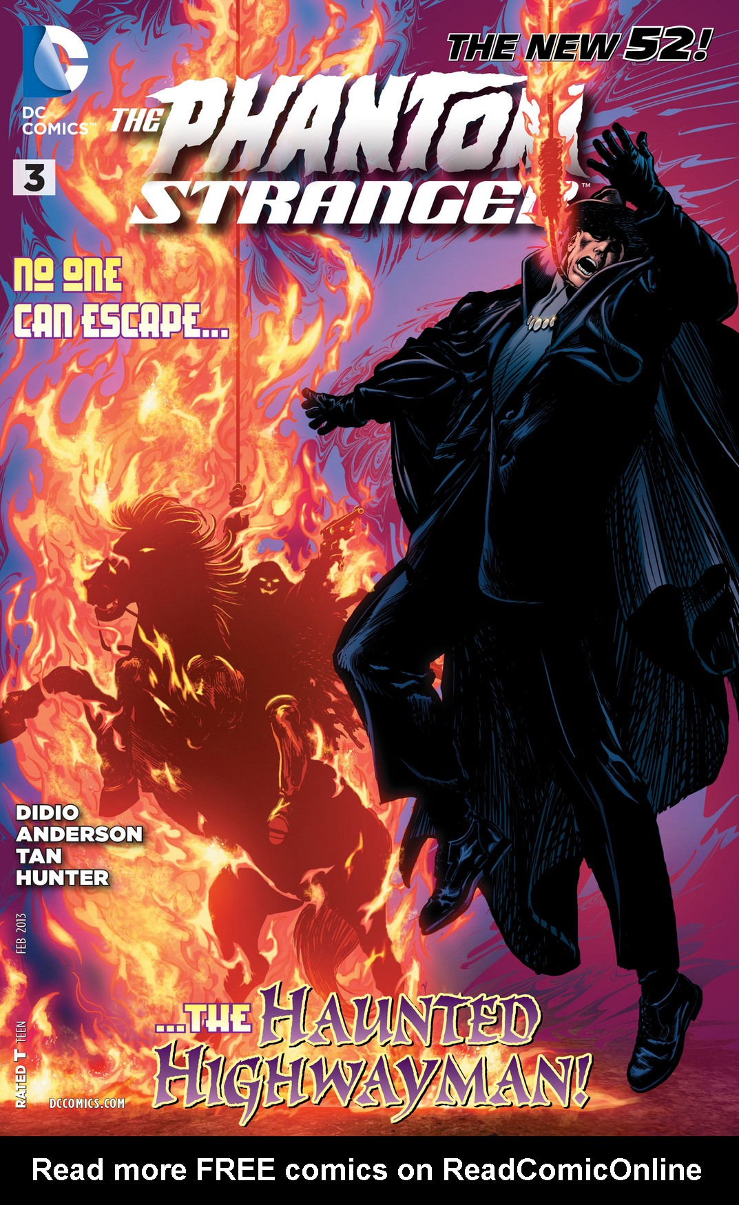 The Phantom Stranger (2012) issue 3 - Page 1